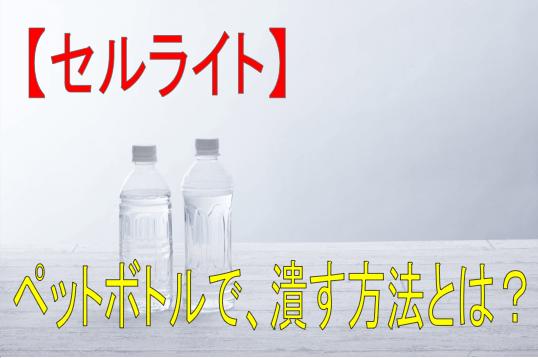 方 潰し ペット ボトル