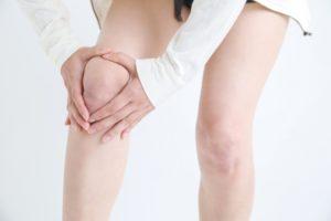 膝上の肉を落とす